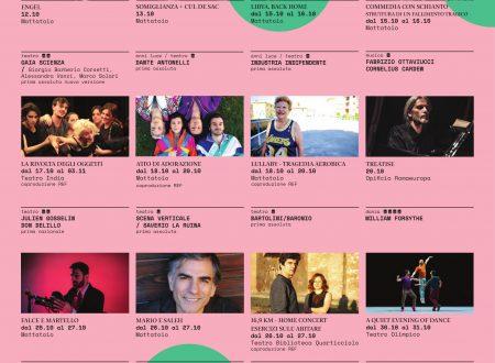 RomaEuropa Festival programma ottobre-novembre